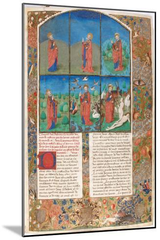 The Creation (From: L'Antiquité Judaïque by Flavius Josephu)--Mounted Giclee Print