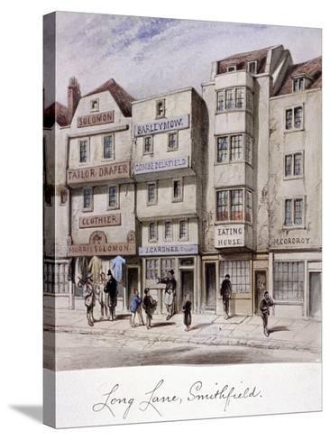 Long Lane, Smithfield, London, C1844--Stretched Canvas Print