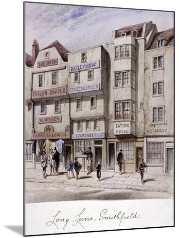 Long Lane, Smithfield, London, C1844--Mounted Giclee Print
