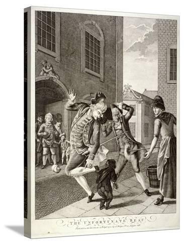 The Unfortunate Beau, 1772--Stretched Canvas Print
