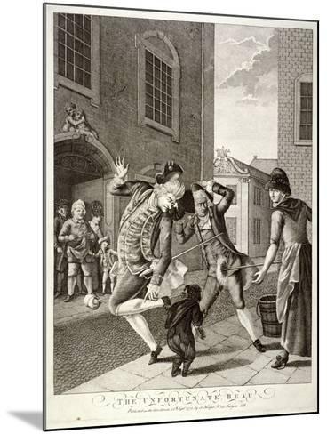 The Unfortunate Beau, 1772--Mounted Giclee Print