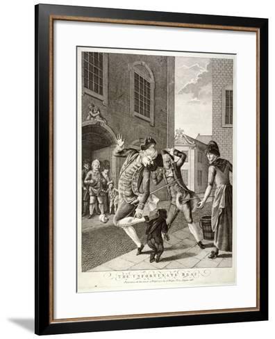 The Unfortunate Beau, 1772--Framed Art Print