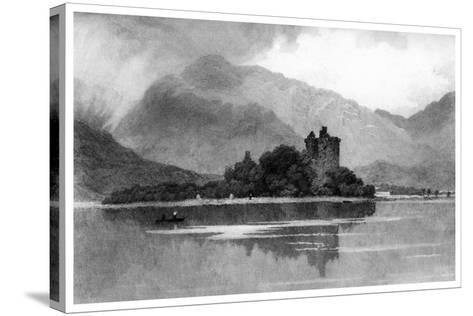 Kilchurn Castle, 1895-David Law-Stretched Canvas Print