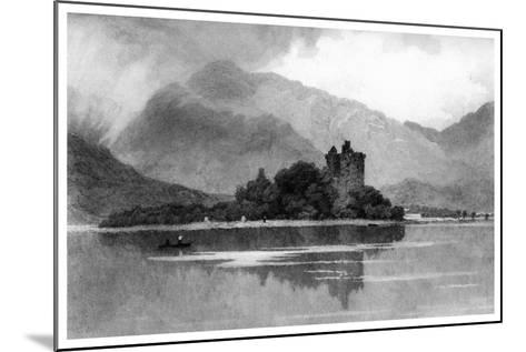 Kilchurn Castle, 1895-David Law-Mounted Giclee Print