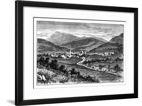 Castleton of Braemar, Scotland, C1888--Framed Art Print