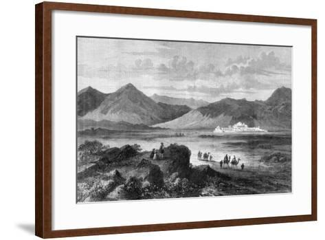 Entrance to the Khyber Pass and Fort of Jamrood, Afghanistan, 1878--Framed Art Print
