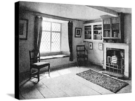 De Quincey's Home, Doce Cottage, Grasmere, 1923--Stretched Canvas Print