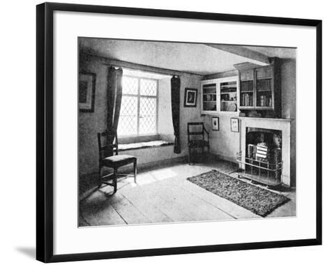 De Quincey's Home, Doce Cottage, Grasmere, 1923--Framed Art Print