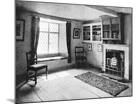 De Quincey's Home, Doce Cottage, Grasmere, 1923--Mounted Giclee Print