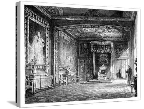 The Throne Room, Windsor Castle, C1888--Stretched Canvas Print