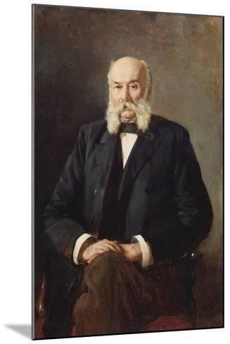 Portrait of the Author Ivan Goncharov (1812-189), 1888-Nikolai Alexandrovich Yaroshenko-Mounted Giclee Print