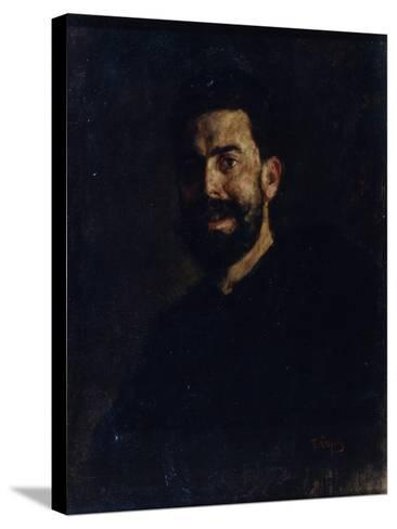Portrait of the Opera Singer Francisco D?Andrade (1859-192), 1885-Valentin Alexandrovich Serov-Stretched Canvas Print
