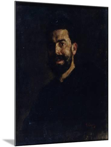 Portrait of the Opera Singer Francisco D?Andrade (1859-192), 1885-Valentin Alexandrovich Serov-Mounted Giclee Print