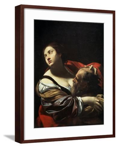 Roman Charity, 1620S-Simon Vouet-Framed Art Print