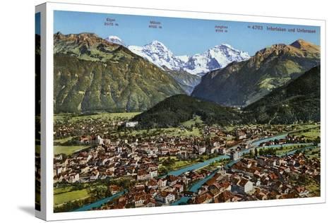 Interlaken, Switzerland, 20th Century--Stretched Canvas Print