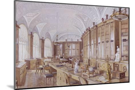 The Rossi Library in the Pavlovsk Palace-Anatoly Vladimirovich Treskin-Mounted Giclee Print