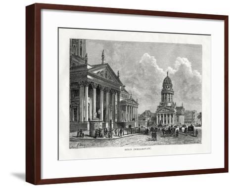 Schiller Platz, Berlin, Germany, 1879-A Deroy-Framed Art Print