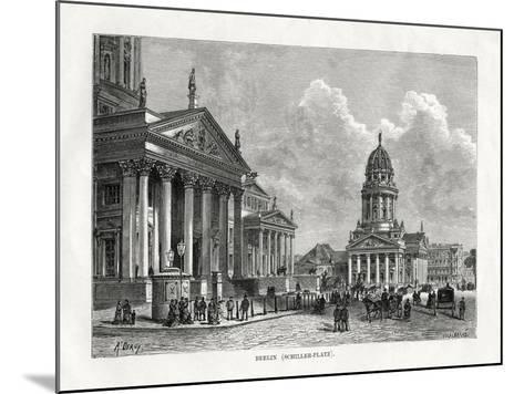 Schiller Platz, Berlin, Germany, 1879-A Deroy-Mounted Giclee Print