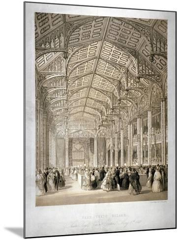 Interior of the Covent Garden Theartre, Bow Street, Westminster, London, 1845-Day & Haghe-Mounted Giclee Print