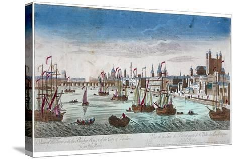 Tower of London, 1766--Stretched Canvas Print