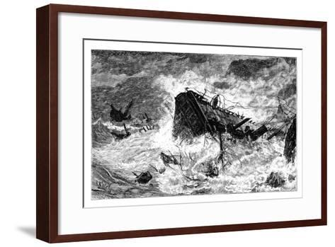 Storm, Balaclava, Ukraine, C1888--Framed Art Print