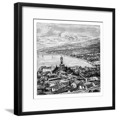 View in the Crimea: Yalta, C1888--Framed Art Print