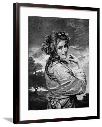 Lady Hamilton as 'Nature', C1783-1784-Joshua Reynolds-Framed Art Print
