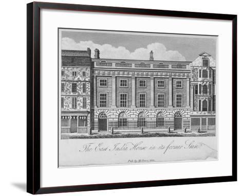 East India House, Leadenhall Street, City of London, 1800--Framed Art Print