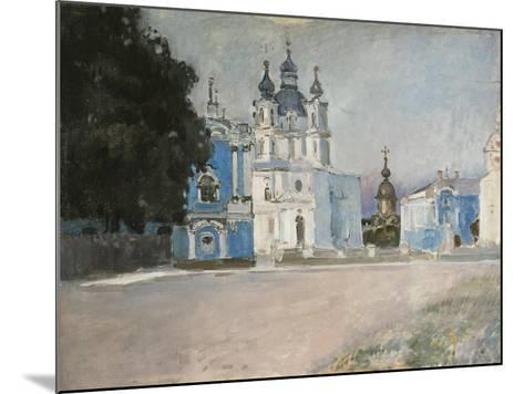 The Smolny Convent in Saint Petersburg, Early 20th C-Stepan Petrovich Yaremich-Mounted Giclee Print