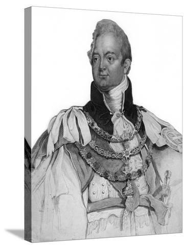 William IV of the United Kingdom, 19th Century--Stretched Canvas Print