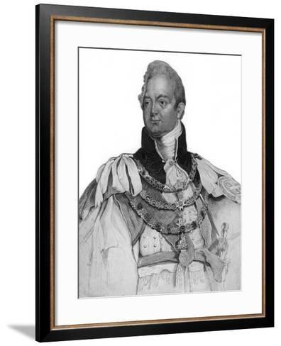 William IV of the United Kingdom, 19th Century--Framed Art Print