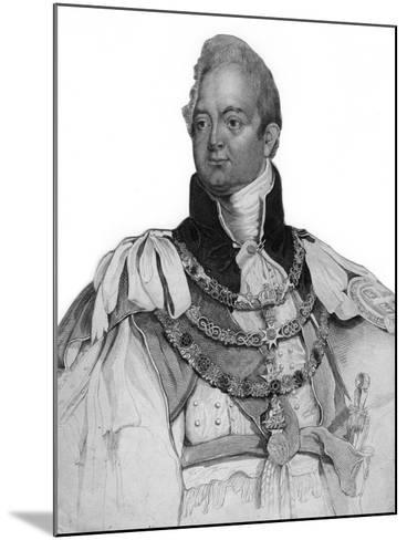 William IV of the United Kingdom, 19th Century--Mounted Giclee Print