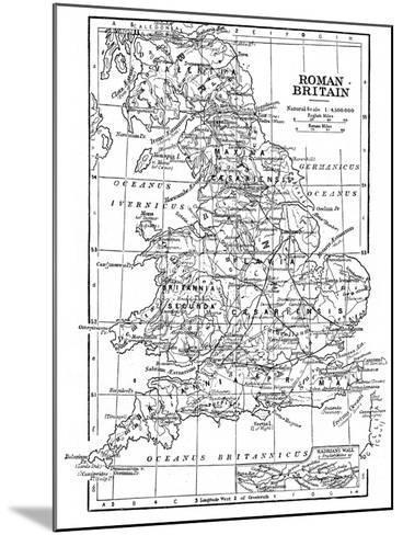 Roman Britain--Mounted Giclee Print