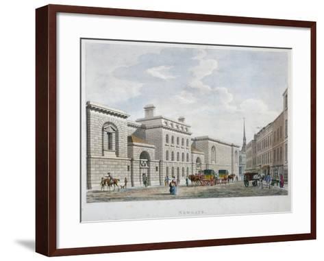 Newgate Prison, Old Bailey, City of London, 1799--Framed Art Print