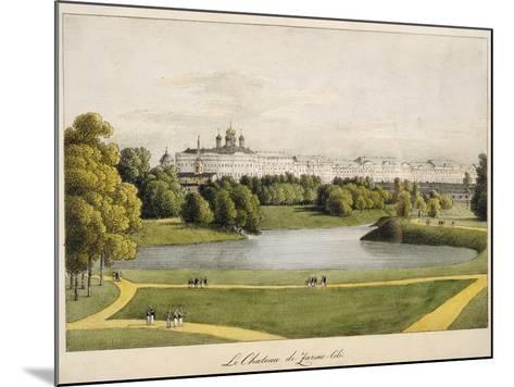 The Catherine Palace in Tsarskoye Selo, 1821-1822-Andrei Yefimovich Martynov-Mounted Giclee Print
