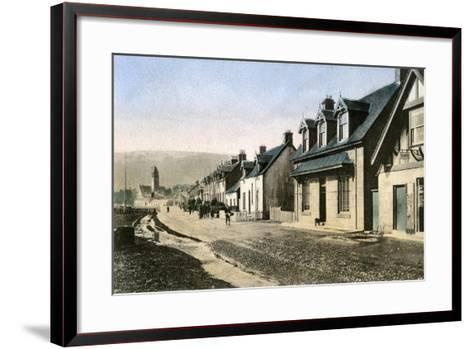 Main Street, Lamlash, Isle of Arran, Scotland, 20th Century--Framed Art Print