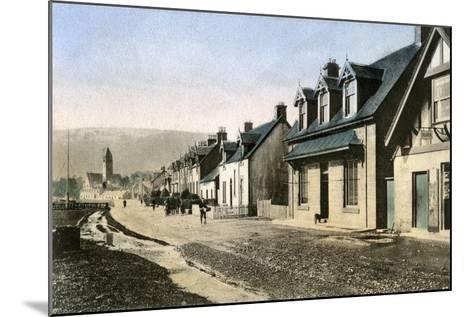Main Street, Lamlash, Isle of Arran, Scotland, 20th Century--Mounted Giclee Print