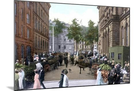 Saturday Morning Market, Halifax, Nova Scotia, Canada, C1900s--Mounted Giclee Print