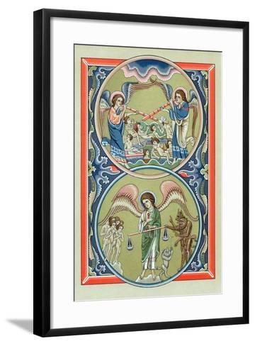 Resurrection of the Dead and Weighing of Souls at the Last Judgement--Framed Art Print