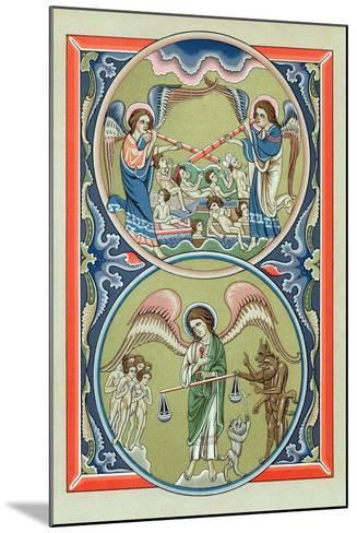 Resurrection of the Dead and Weighing of Souls at the Last Judgement--Mounted Giclee Print