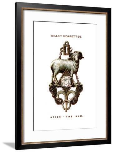Aries, the Ram, 1923--Framed Art Print