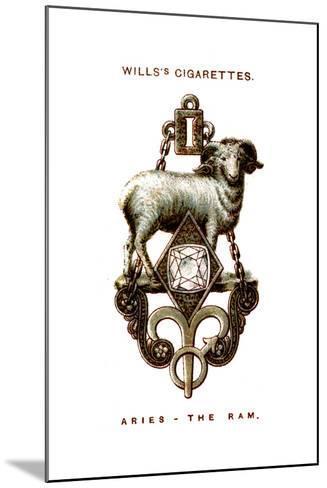 Aries, the Ram, 1923--Mounted Giclee Print