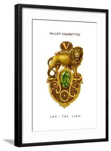 Leo, the Lion, 1923--Framed Art Print