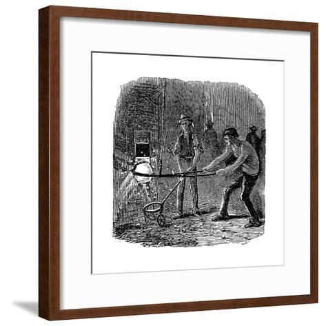 Phoenix Iron and Bridge Works, Phoenixville, Pennsylvania, 1873--Framed Art Print