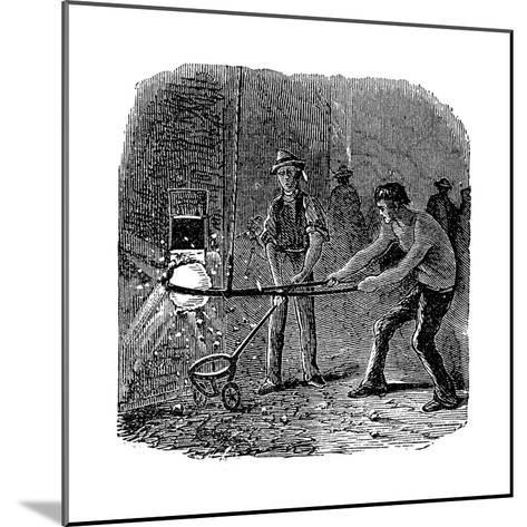 Phoenix Iron and Bridge Works, Phoenixville, Pennsylvania, 1873--Mounted Giclee Print