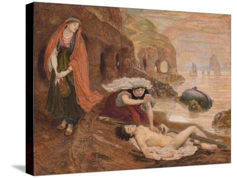 The Finding of Don Juan by Haidée, 1869-1870-Ford Madox Brown-Stretched Canvas Print