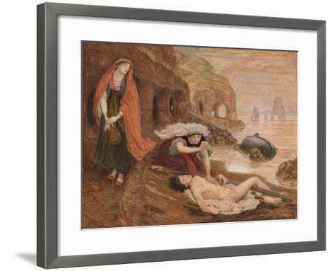 The Finding of Don Juan by Haidée, 1869-1870-Ford Madox Brown-Framed Art Print