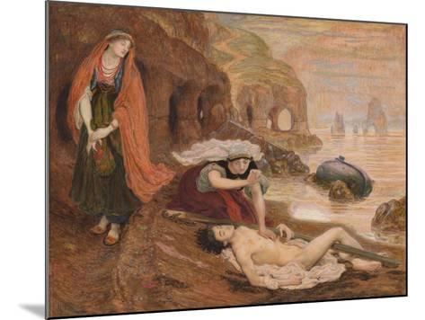 The Finding of Don Juan by Haidée, 1869-1870-Ford Madox Brown-Mounted Giclee Print