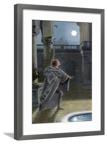 It Is the East and Juliet Is the Sun, 1856-1858--Framed Art Print
