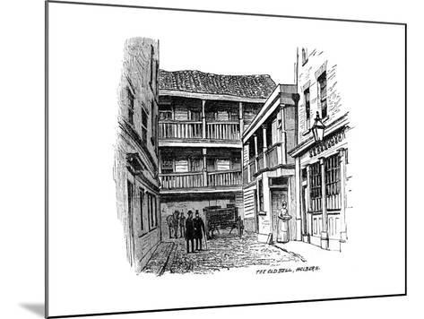 The Old Bell Coaching Inn, Holborn, London, 1887--Mounted Giclee Print